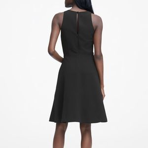 NWT Banana Republic fit and flare racerback dress